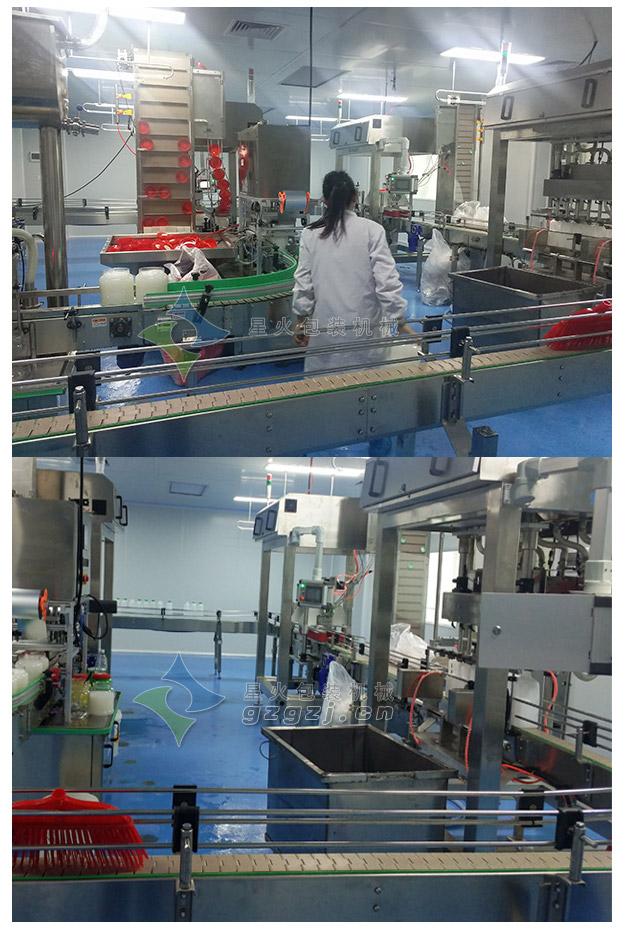 椰汁奶灌装生产线